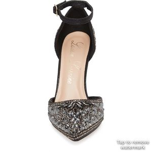 de4ef201869 LAUREN LORRAINE Shoes -    SOLD    Rose Crystal Embellished d